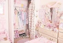 Pokój w stylu Kawaii :3