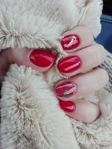 jak dlamnie Zimowy Manicure...