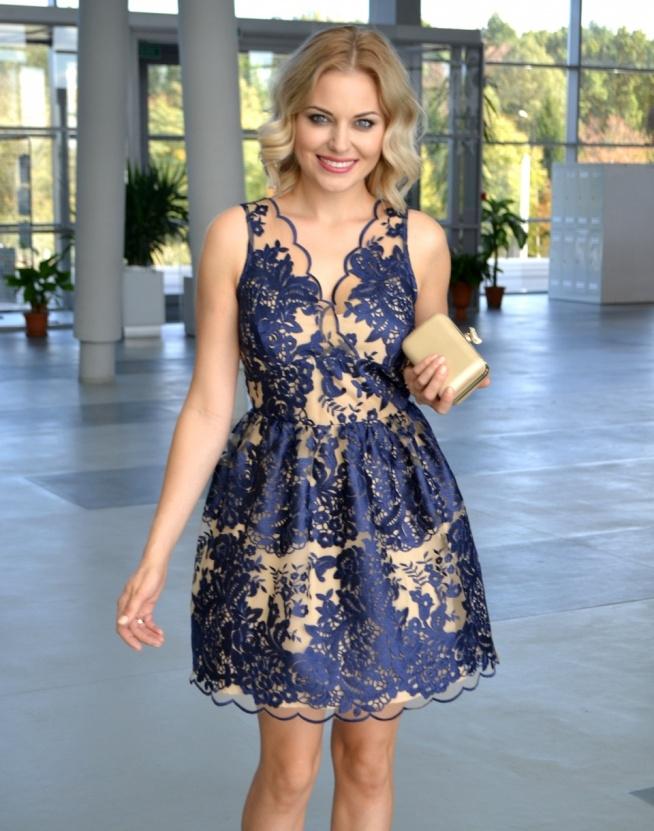 e3b1f737f02554 koronkowa sukienka Illuminate na Sukienki - Zszywka.pl