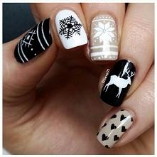 Wzory na paznokciach mówią same za siebie, jaką porę roku reprezentują. Mimo ...