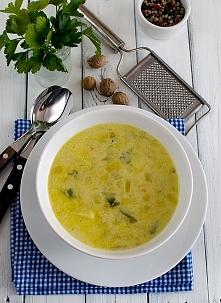 Błyskawiczna zupa z porów i ziemniaków