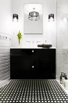 meble łazienkowe z kryształami swarovskiego