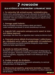 7 powodów aby uprawiać sex