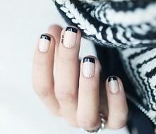 Ten manicure pasuję do każdej stylizacji zimowej. Moim zdaniem jest idealny.