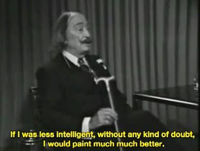 Salvador Dalí  i kropka.