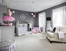 Pokój dla małej dziewczynki czyli jak urządzić pokój dla niemowlaka w stylu a...