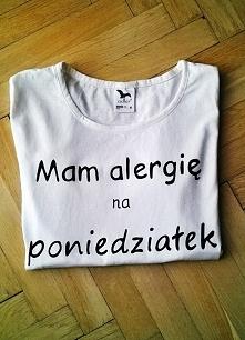 Mam alergię na poniedziałek :D