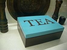 skrzynka na herbatę :)