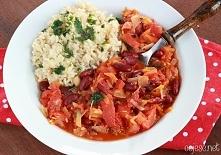 Pyszny pomidorowy gulasz. Polecam :) Kliknij na zdjęcie by zobaczyć przepis. ...