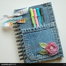 Pomysł na okładkę np. na notes lub jakiś zeszyt. :)