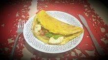 Pyszny omlet (ok. 400 kcal)...