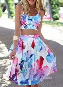 Floral summer two piece, $18.75