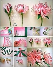 turtorial czyli jak zrobić kwiaty samemu :)