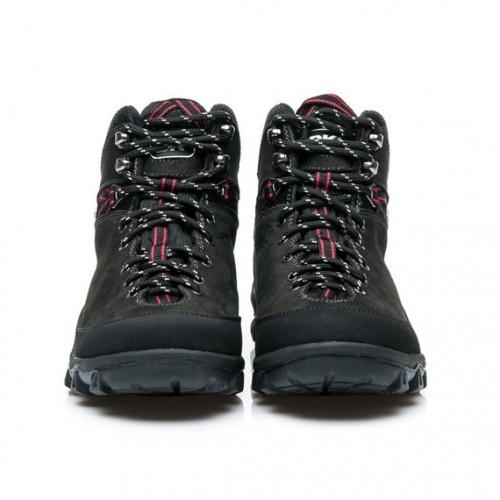 DKO Modne buty trekkingowe czarne