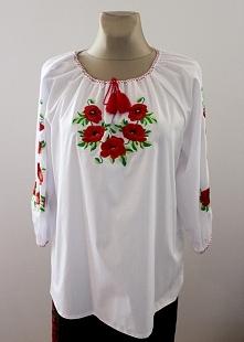 Haftowana koszula folkowa Model nr 4 Rozmiar od 34 do 60 Cena 150 zł