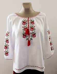 Haftowana koszula folkowa Model nr 8  Rozmiar od 34 do 60 Cena 150 zł
