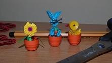 Moje miniaturki papierowe :P