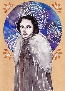 Jon Snow, rys. Alice Rose