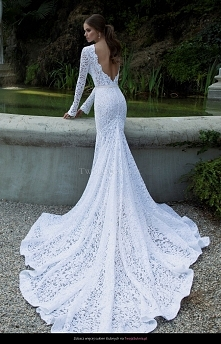 Cudowna suknia ślubna :)