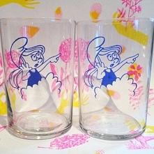 Para szklanek - Smerfetka