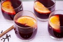 grzaniec z karmelizowanymi pomarańczami
