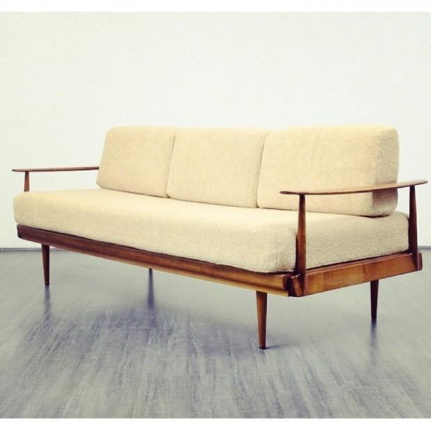 Unikatowa sofa Knoll z 1950 roku