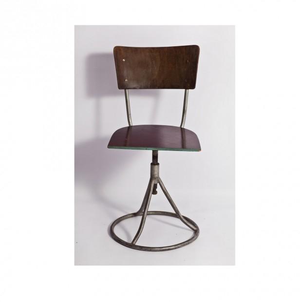 Industrialne krzesło obrotowe, lata 30./40.