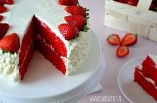Walentynkowy Tort Red Velvet - przepis po kliknięciu na zdjęcie :)