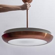 Unikatowa lampa UFO, Napako, lata 60.