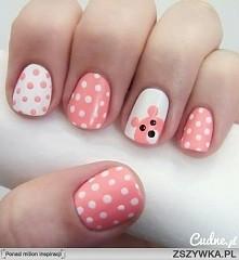 paznokcie#kropki#mis Czemu gdy zrobie wzorek na paznokciach, np sa to kropki ...