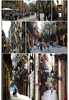Barcelona, old town