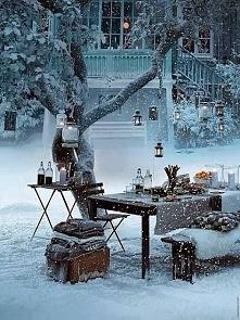 Piknik w zimowym plenerze <3
