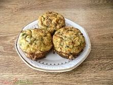 Jajeczne babeczki z warzywami - bez glutenu