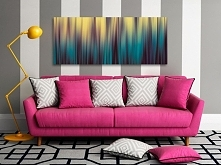 Barwy wschodzącego słońca - nowoczesny obraz na płótnie