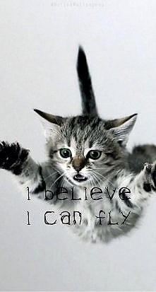 :) I believe I can fly :)