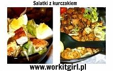 Dwa przepisy na sałatkę z kurczakiem. Idealna na lunch do pracy albo kolację. Więcej po kliknięciu w zdjęcie