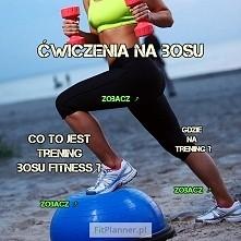 Ćwiczenia na pół-piłce Bosu...