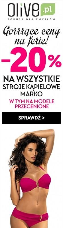 To idealny czas, aby przygotować się do lata! Mocno obniżone ceny kostiumów kąpielowych Marko w sklepie Olive.pl