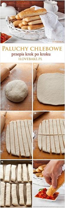 Paluchy chlebowe