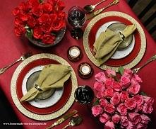Jutro walentynki! Chcecie dowiedzieć się jak ładnie nakryć stół na tą okazję? Zapraszam do mnie na bloga!  homemade-stories.blogspot.be