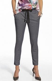 Ennywear 210006 spodnie Stylowe spodnie, wykonane z dzianiny o ciekawej faktu...