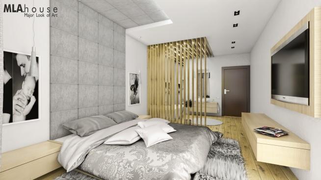 Sypialnia Salon Kąpielowy Na Pomysły Zszywkapl