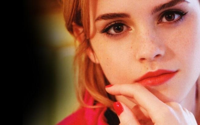 Emma! *__* śliczne spojrzenie