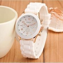 Biały zegarek - 14,99zł - klik w zdjęcie