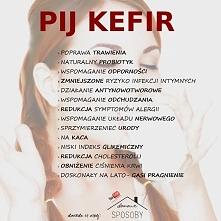 Dlaczego warto pić kefir:)