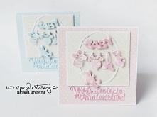 Kartka z okazji narodzin Maluszka