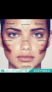 przykładowy makijaż :)