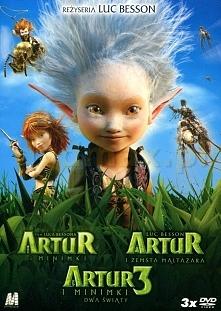 Bajka: Artur i Minimki Artur i zemsta Maltazara Artur i Minimki 3: Dwa światy