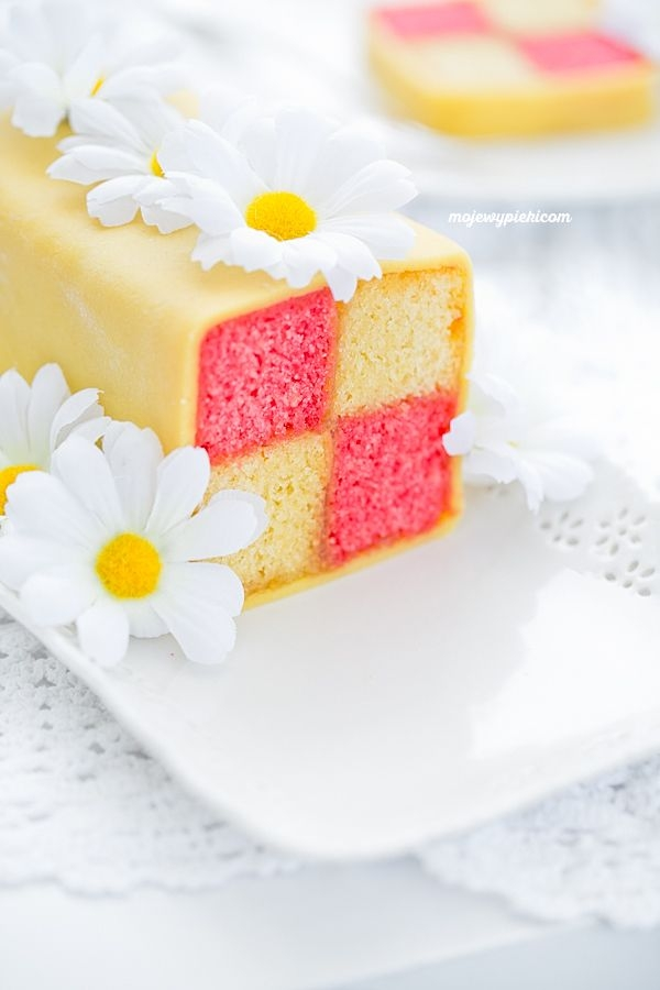 CIASTO BATTENBERG tradycyjne angielskie ciasto