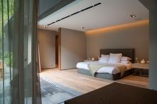 Nowoczesna sypialnia to sypialnia otwarta, to sypialnia połączona z zewnętrze...